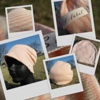 医療用帽子 2016 ピンクボーダー帽子