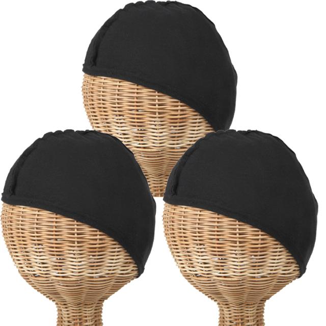 インナーキャップ 帽子の肌着 3枚セット 1021-3