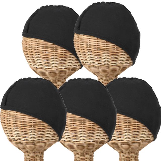 インナーキャップ 帽子の肌着 5枚セット 1021-3