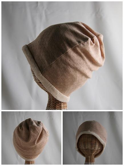 医療用帽子 エリゼメッシュ夏用帽子