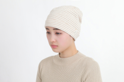 パイルボーダー帽子