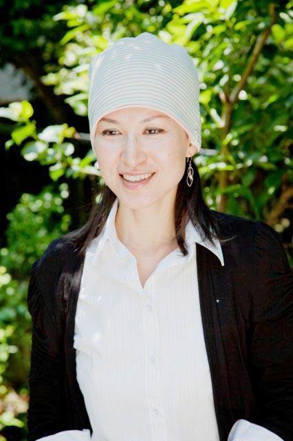 tendre抗がん剤医療用帽子10-te01sax&pink
