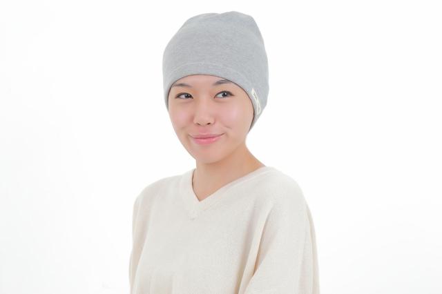 医療用帽子 杢グレータオル帽子 2730