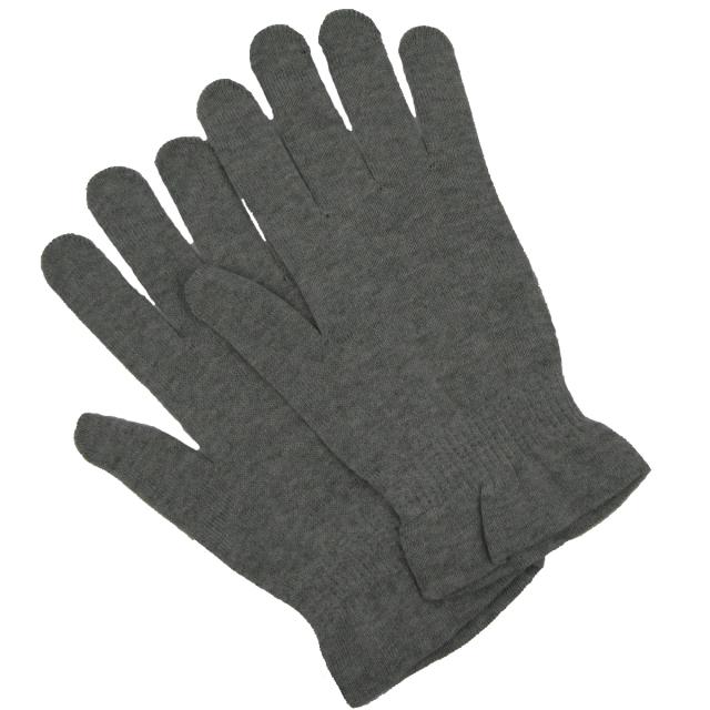 医療用帽子 柔らか手袋 グレー 4010