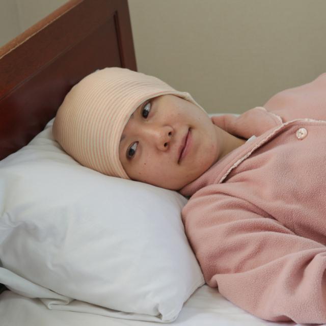 就寝用医療用帽子のイメージ