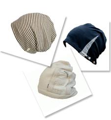 医療用帽子のデザイン