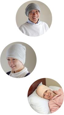 タンドレ医療用帽子イメージ